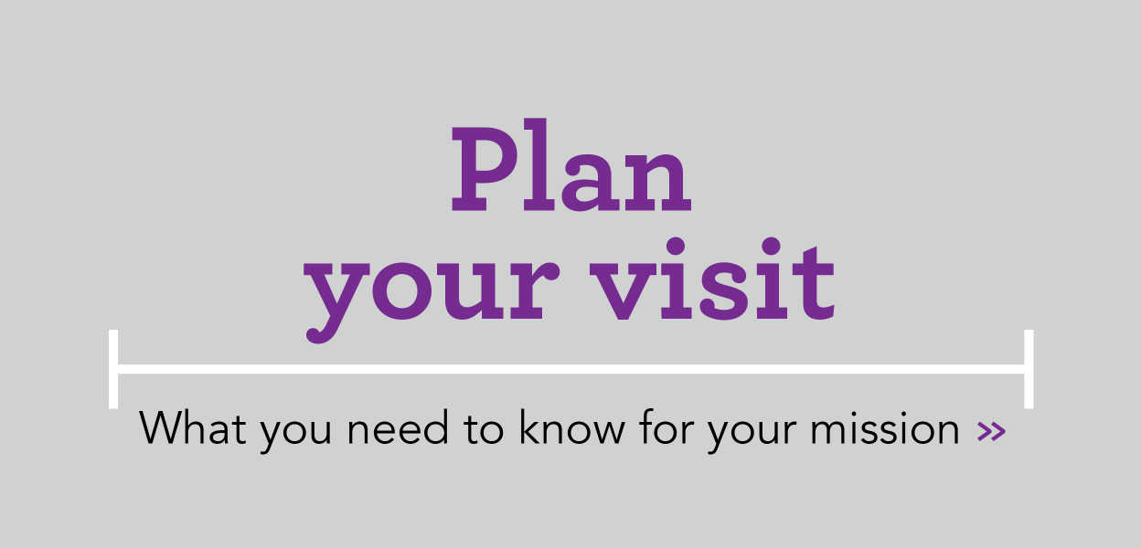 plan your visit banner