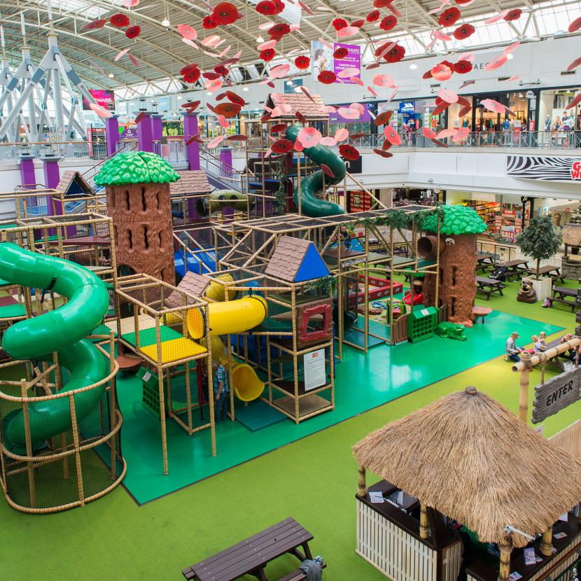Get wild indoor play area the galleria hatfield for Inside play areas