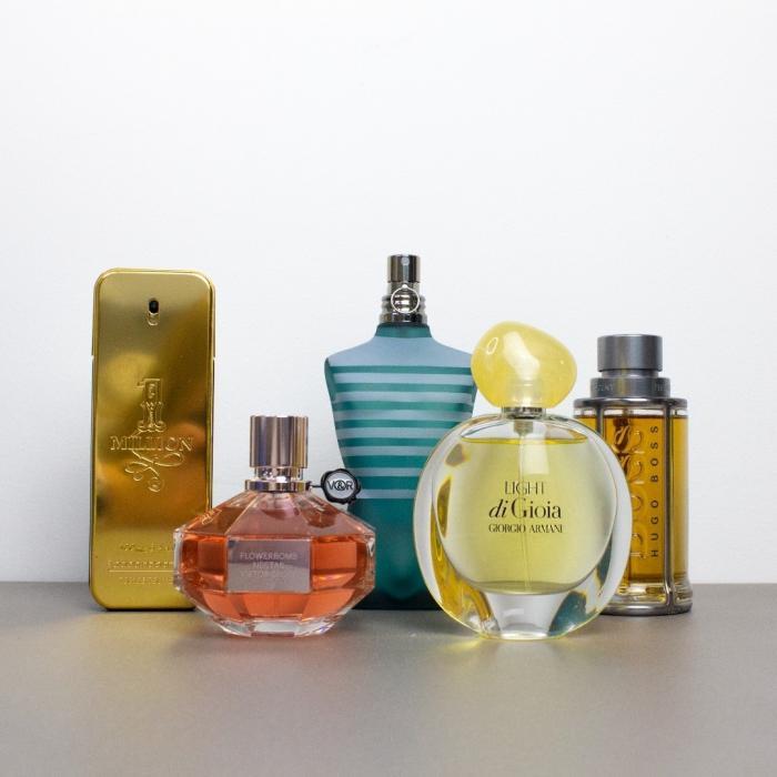 Fragrance Shop, perfumes