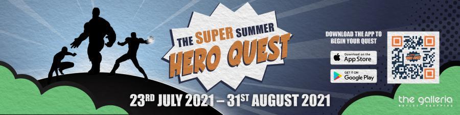 Hero Quest at The Galleria