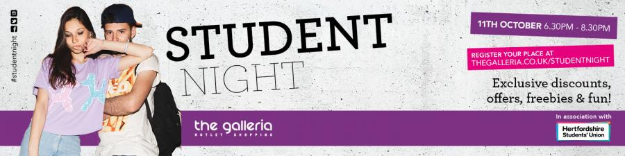 The Galleria Student Night