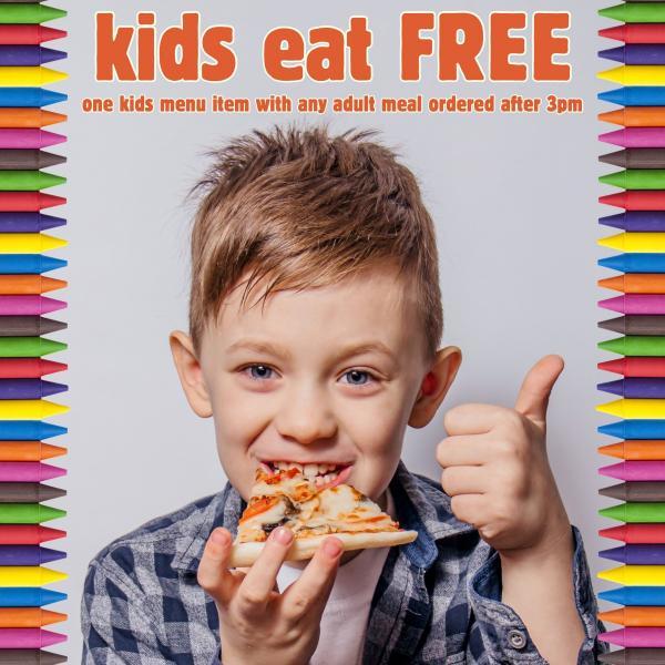 Cafe Giardino, Kids Eat Free